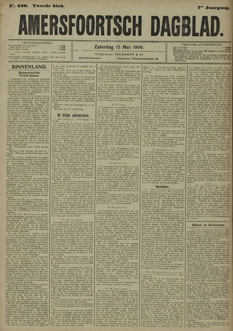 Amersfoortsch Dagblad 1909-05-15