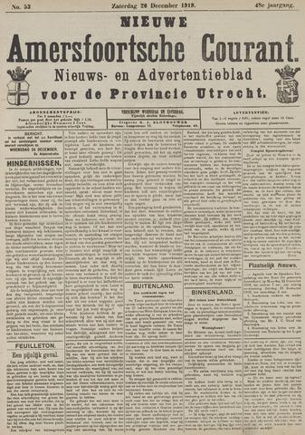 Nieuwe Amersfoortsche Courant 1919-12-20