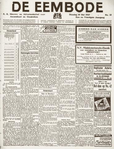 De Eembode 1927-05-10