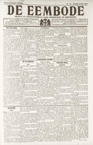 De Eembode 1913-07-29