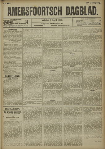 Amersfoortsch Dagblad 1907-04-05