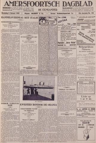 Amersfoortsch Dagblad / De Eemlander 1935-02-06