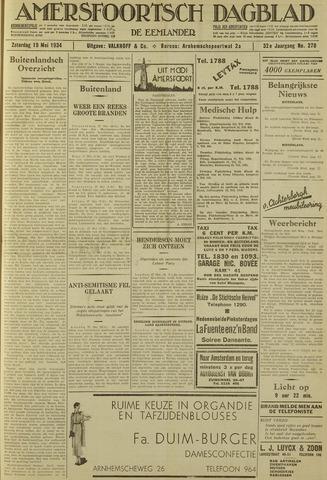 Amersfoortsch Dagblad / De Eemlander 1934-05-19