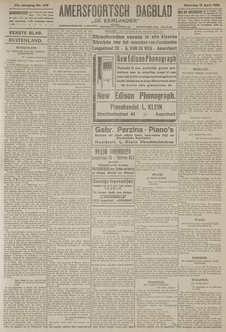 Amersfoortsch Dagblad / De Eemlander 1925-04-18