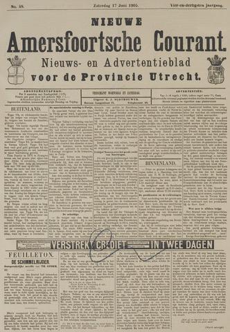 Nieuwe Amersfoortsche Courant 1905-06-17