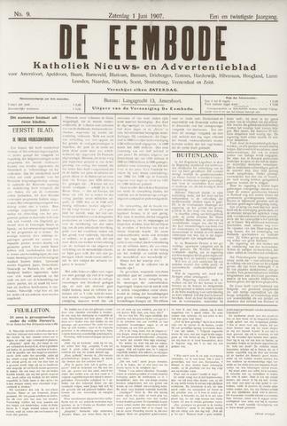 De Eembode 1907-06-01