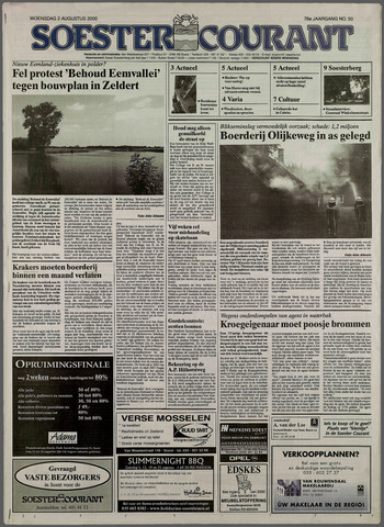 Soester Courant 2000-08-02