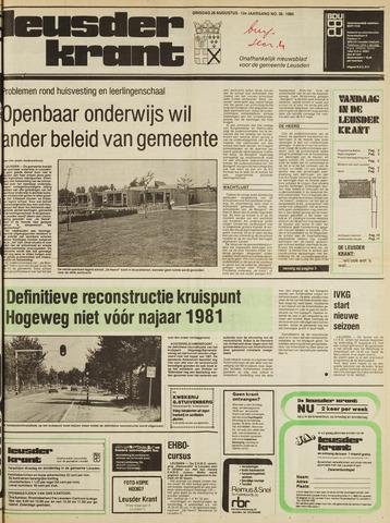 Leusder Krant 1980-08-26