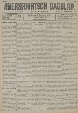 Amersfoortsch Dagblad / De Eemlander 1915-12-09