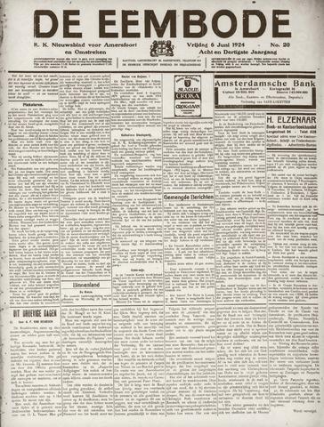 De Eembode 1924-06-06