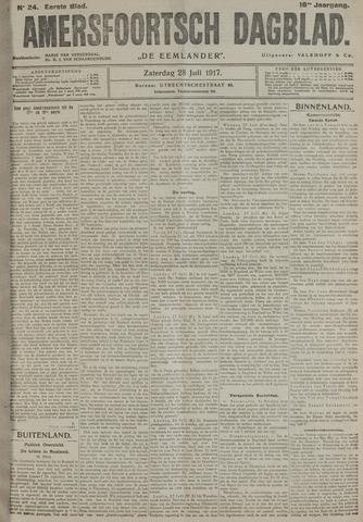 Amersfoortsch Dagblad / De Eemlander 1917-07-28