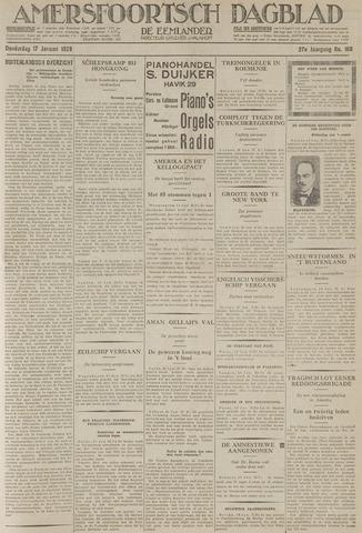 Amersfoortsch Dagblad / De Eemlander 1929-01-17