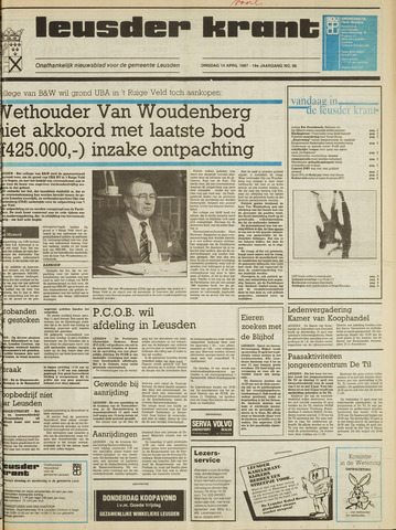 Leusder Krant 1987-04-14