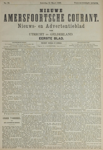 Nieuwe Amersfoortsche Courant 1893-03-25