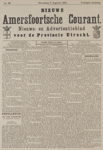 Nieuwe Amersfoortsche Courant 1911-08-09