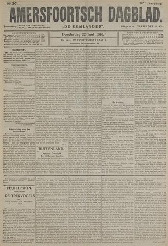 Amersfoortsch Dagblad / De Eemlander 1916-06-22