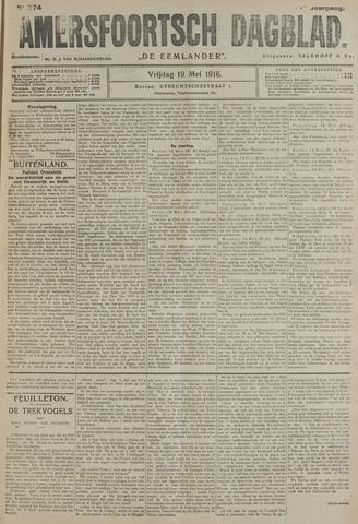 Amersfoortsch Dagblad / De Eemlander 1916-05-19