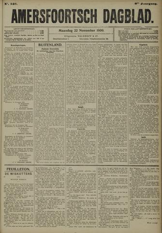 Amersfoortsch Dagblad 1909-11-22