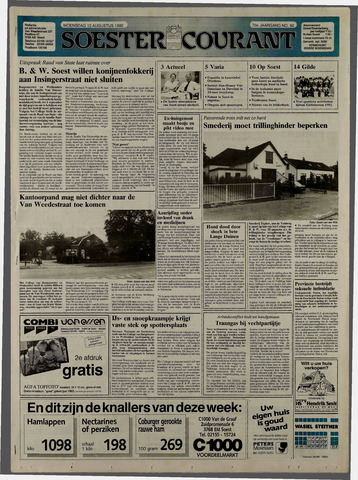 Soester Courant 1992-08-12