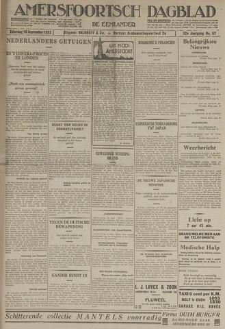 Amersfoortsch Dagblad / De Eemlander 1933-09-16