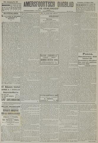 Amersfoortsch Dagblad / De Eemlander 1922-03-29