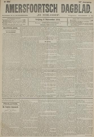 Amersfoortsch Dagblad / De Eemlander 1914-11-06
