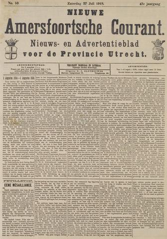 Nieuwe Amersfoortsche Courant 1918-07-27