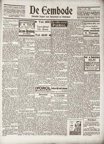 De Eembode 1936-01-31