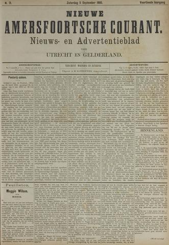 Nieuwe Amersfoortsche Courant 1885-09-05