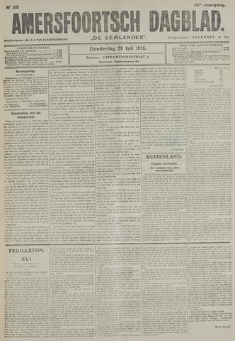 Amersfoortsch Dagblad / De Eemlander 1915-07-29