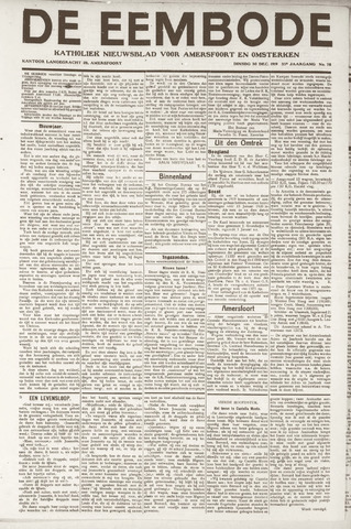 De Eembode 1919-12-30
