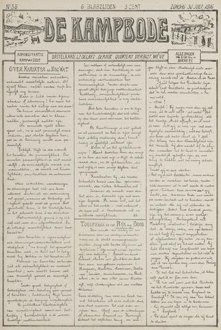 De Kampbode 1916-07-30