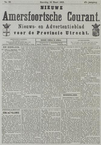 Nieuwe Amersfoortsche Courant 1918-03-16