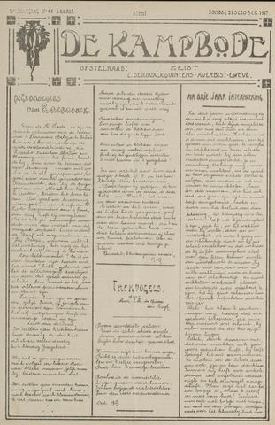 De Kampbode 1917-10-21