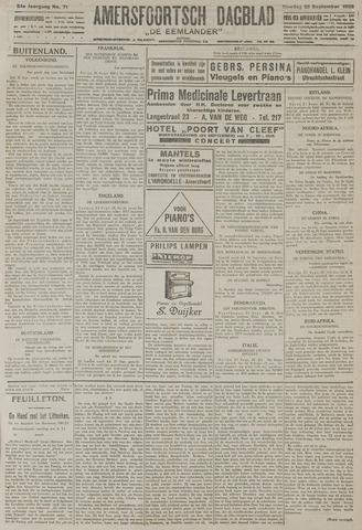 Amersfoortsch Dagblad / De Eemlander 1925-09-22