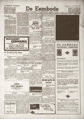 De Eembode 1938-01-14
