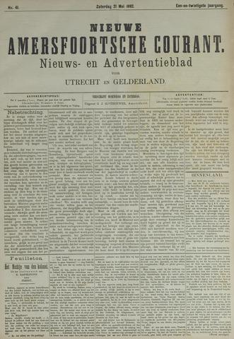 Nieuwe Amersfoortsche Courant 1892-05-21