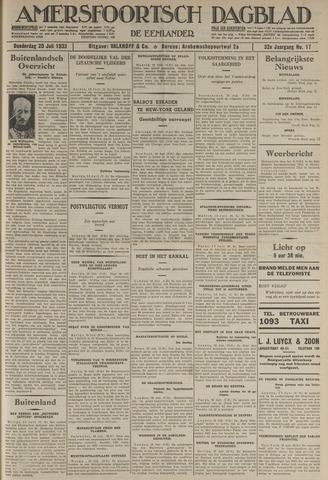 Amersfoortsch Dagblad / De Eemlander 1933-07-20