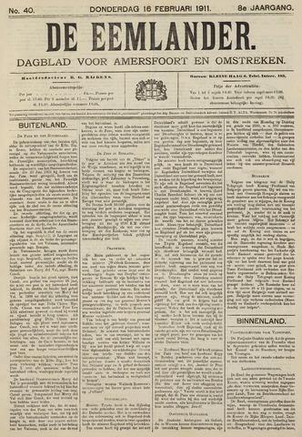 De Eemlander 1911-02-16