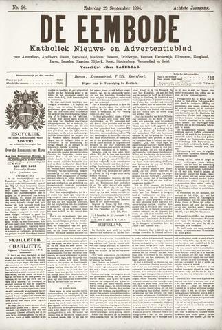 De Eembode 1894-09-29