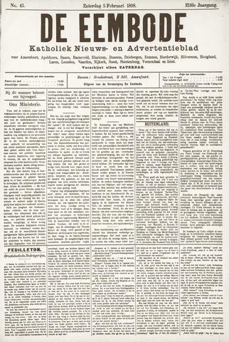 De Eembode 1898-02-05