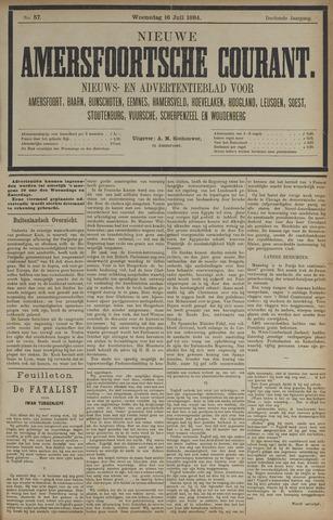 Nieuwe Amersfoortsche Courant 1884-07-16