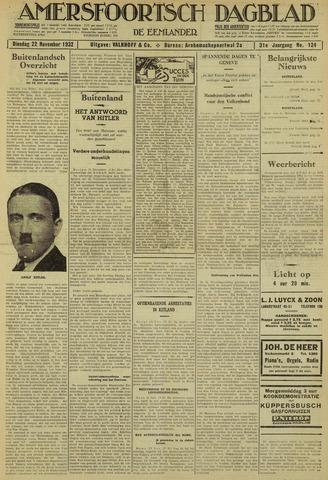 Amersfoortsch Dagblad / De Eemlander 1932-11-22