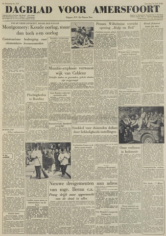 Dagblad voor Amersfoort 1949-07-16