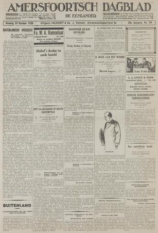 Amersfoortsch Dagblad / De Eemlander 1930-10-28