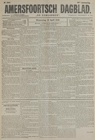 Amersfoortsch Dagblad / De Eemlander 1916-04-12