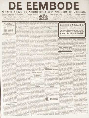 De Eembode 1916-09-01