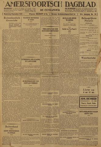 Amersfoortsch Dagblad / De Eemlander 1932-09-01