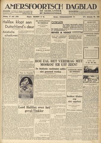 Amersfoortsch Dagblad / De Eemlander 1939-06-13