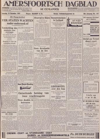 Amersfoortsch Dagblad / De Eemlander 1937-12-18